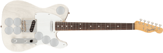 Fender Jimmy Page Mirror Telecaster Rosewood Fingerboard White Blonde