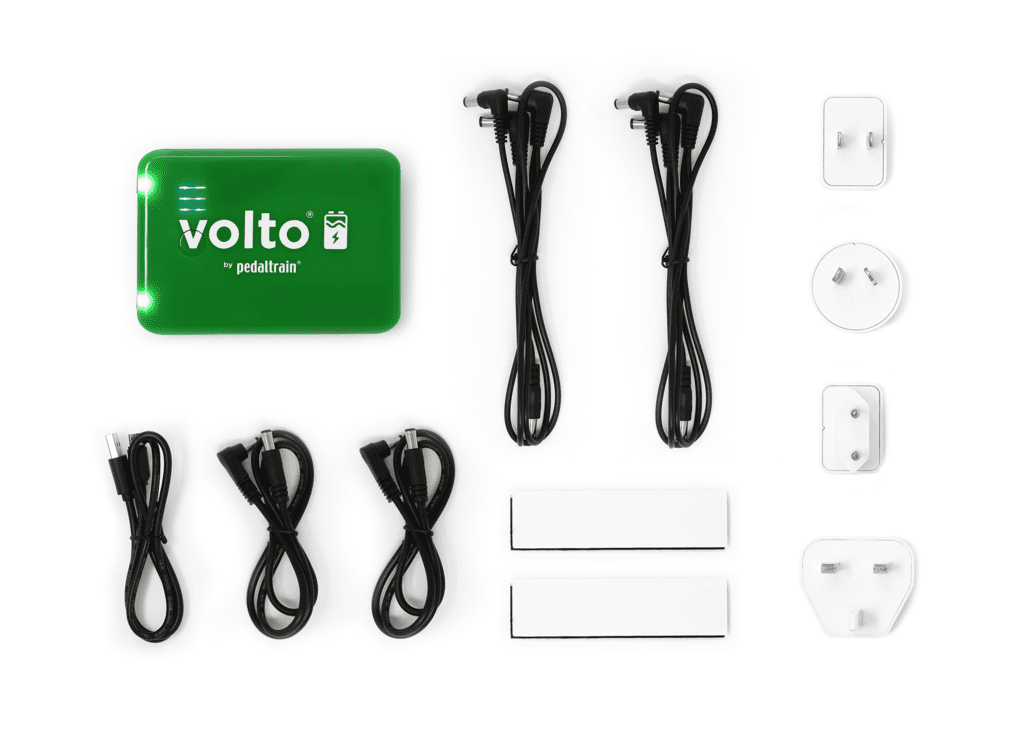 pedaltrain volto 3 rechargeable pedal power supply eastgate music. Black Bedroom Furniture Sets. Home Design Ideas