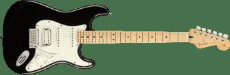 Fender Player Stratocaster HSS Maple Fingerboard Black 0144522506_gtr_frt_001_rr