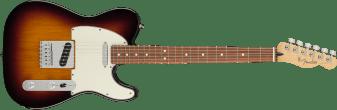 Fender Player Telecaster Pau Ferro Fingerboard 3-Color Sunburst 0145213500_gtr_frt_001_rr
