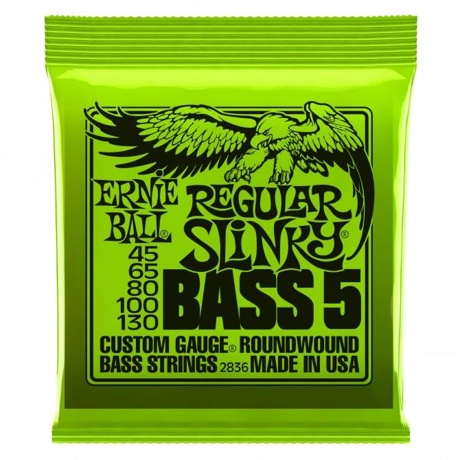 ernie ball 5 string regular slinky electric bass strings eastgate music. Black Bedroom Furniture Sets. Home Design Ideas