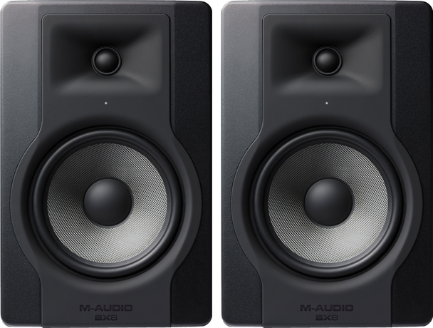 "M-Audio BX5 D3 5"" Powered Studio Reference Monitor PAIR"
