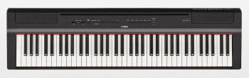 Yamaha P-121 Portable Digital Piano Black
