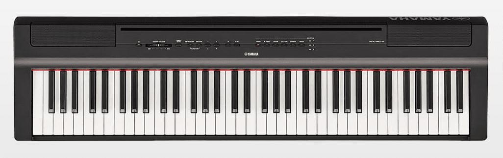 Yamaha P-121 Portable Digital Piano Black