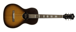 Recording King Dirty 30s Series 7 Single 0 Acoustic Electric Tobacco Sunburst 1