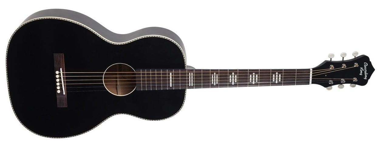 Recording King Dirty 30s Series 7 Single 0 Acoustic Matte Black 1