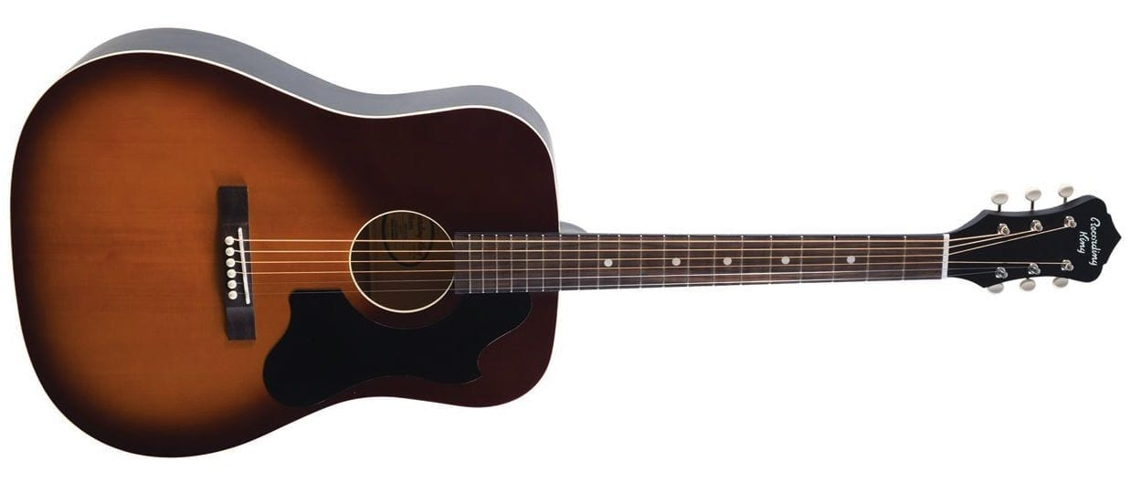 Recording King Dirty 30s Series 9 Dreadnought Tobacco Sunburst 1