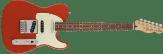 Deluxe Nashville Telecaster Pau Ferro Fingerboard Fiesta Red 0147503340