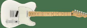 Fender Player Telecaster Maple Fingerboard Polar White 0145212515_gtr_frt_001_rr