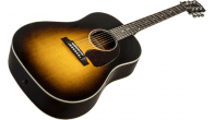 Gibson J-45 Standard Acoustic Electric Guitar Vintage Sunburst 2