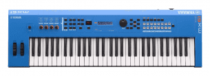 Yamaha MX61 61 Note Synthesizer Blue