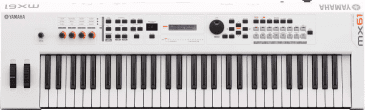 Yamaha MX61 61 Note Synthesizer White