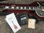 S:H Gibson Les Paul Custom LPB0 Ebony MINT booklet