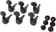 Fender Locking Machine Heads Black 0990818400 6 Inline