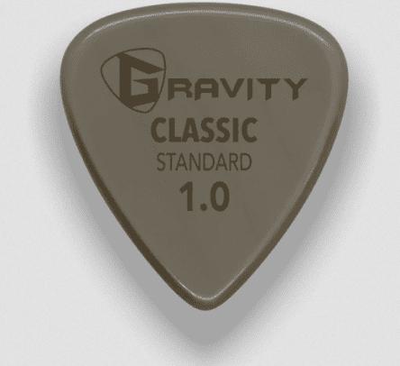 Gravity Picks Classic Gold Standard 1mm polished Tan
