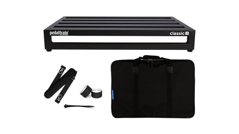 Pedaltrain Classic 3 with Soft Case (PT3 Reissue)