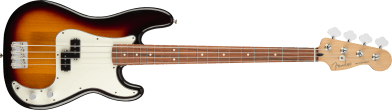Fender Player Precision Bass Pau Ferro Fingerboard 3-Color Sunburst 0149803500_gtr_frt_001_rr