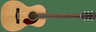 Fender CP-140SE Acoustic Electric Parlor Guitar Natural