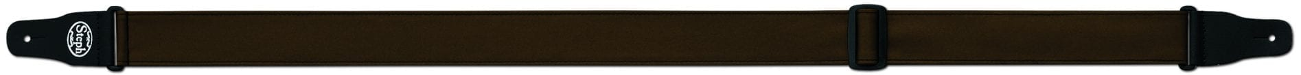 Steph Accessories Folded Leathercrest Strap 5cm Wide Brown