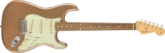 Fender Vintera Road Worm '60s Stratocaster Pau Ferro Fingerboard Firemist Gold