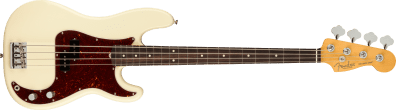 Fender American Professional II Precision Bass Rosewood Fingerboard Olympic White 0193930705_fen_ins_frt_1_rr