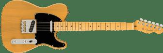 Fender American Professional II Telecaster Maple Fingerboard Butterscotch Blonde Electric Guitar 0113942750_fen_ins_frt_1_rr